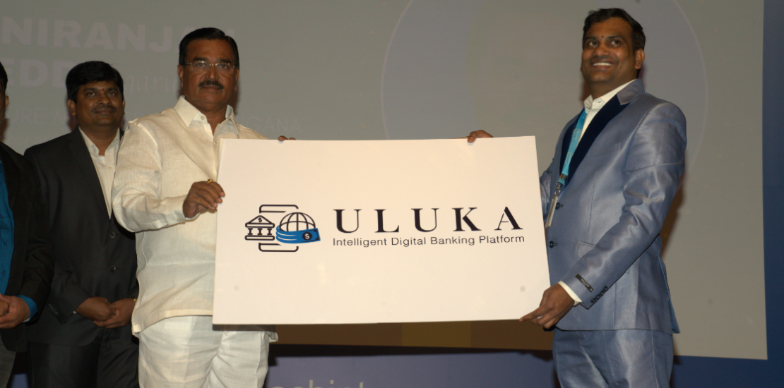 Agriculture Minister Singireddy Niranjan Reddy launching Uluka's logo